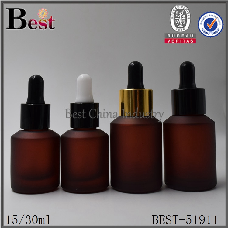 alibaba taobao 15ml 30ml glass dropper bottle beard oil bottle with dropper logo printed
