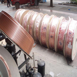 pancake copper tube/copper coil mosquito coil factory direct/copper t2 properties