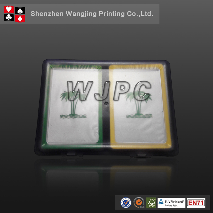 WJPC-Plastic Cards Pvc Playing Cards With Clear Plastic Box