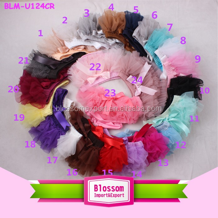 Wholesale girls ruffle tulle turquoise tutu skirt