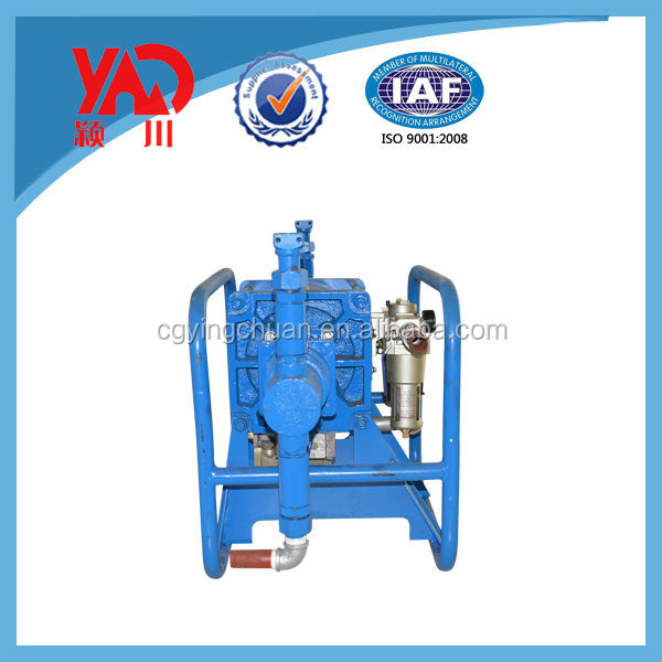 Small Size 2ZBQ-9/3 Air Grouting Pump/Mortar Pump Machinery For Coal Mining