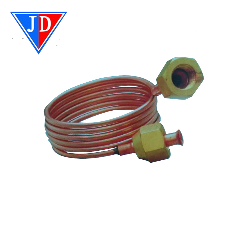 2mm Dia Copper Refrigeration Capillary Tube Coil for Freezer