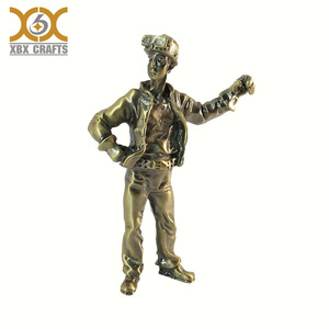Antique Statuette Customized Figurine Handmade Custom Sculpture Man Miniature Home Decoration Display