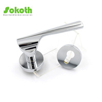 door accessories,lever handle on rose,door and window handle