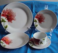 porcelain living art stoneware table dinner set