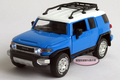 New 1 32 Toyota FJ CRUISER Alloy Diecast Model Car With Sound Light Blue B205b