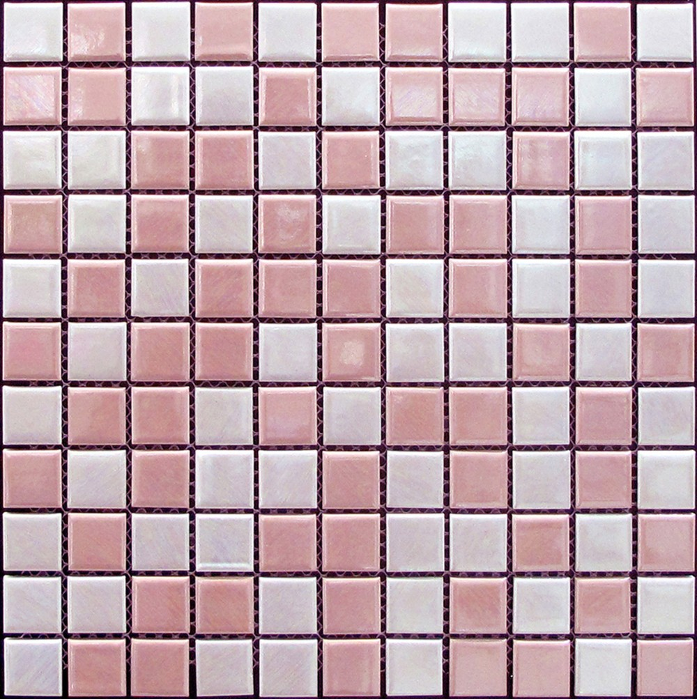 Foshan ceramic mosaic series glazed pink ceramic bathroom wall foshan ceramic mosaic series glazed pink ceramic bathroom wall tile in mosaic 2525mm dailygadgetfo Choice Image