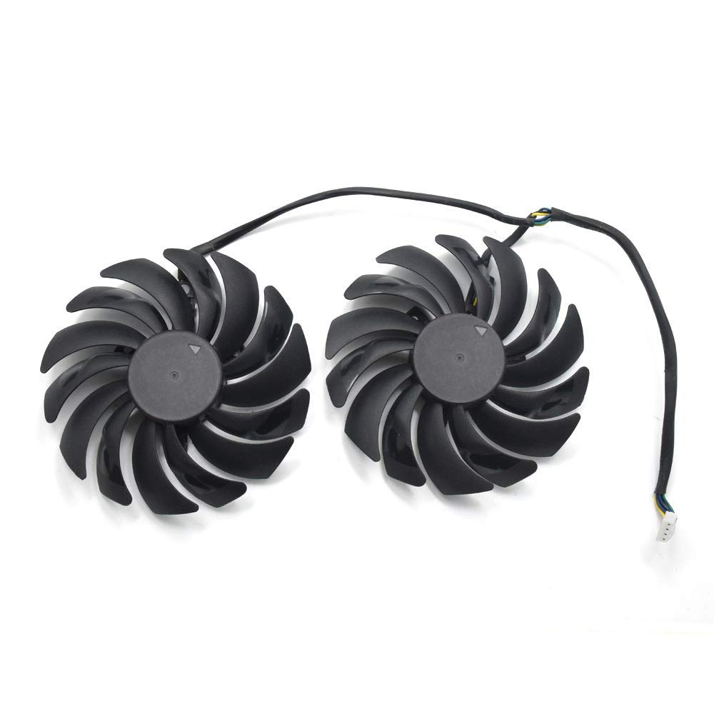 1pc inRobert 95mm T129215SM 12V 0.25AMP Graphics Card Cooling Fan For ASUS STRIX-RX470-O4G-GAMING RX580 GTX1050Ti