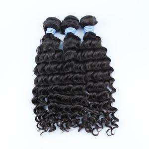 xbl free sample hair bundles, goodfeedback wholesale price brazilian human hair,high quality cheap deep wave