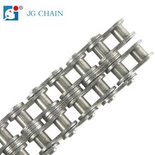 Zhuji quality mini iron transmission drive parts double row roller chain 04c