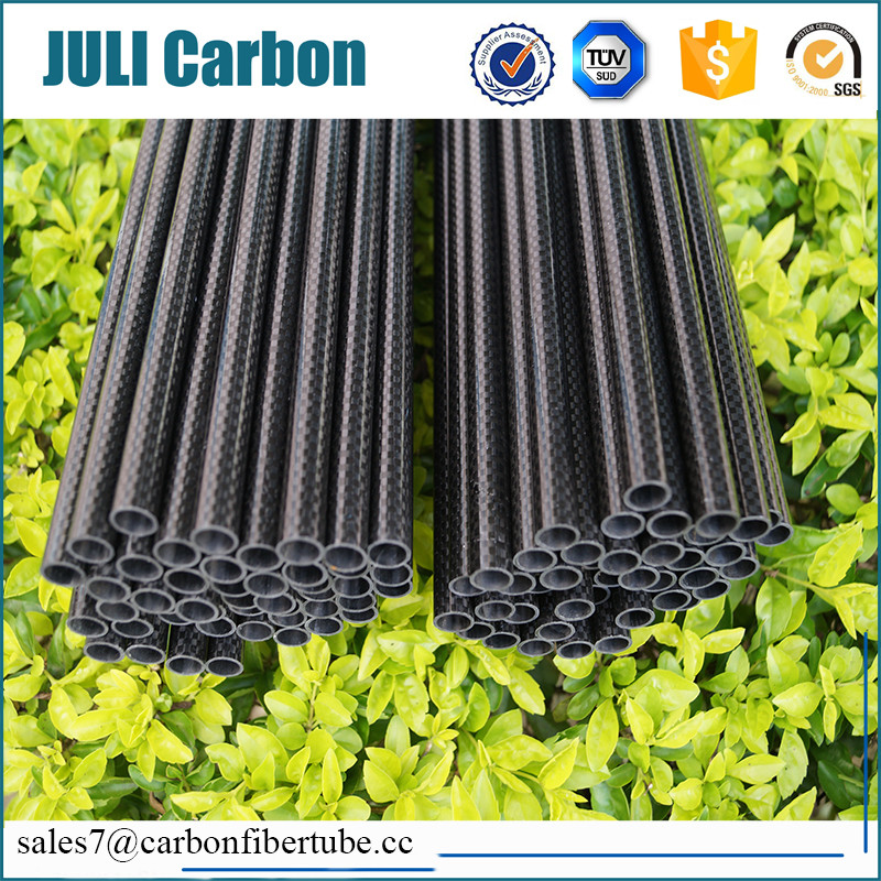 100% carbon fiber and high strength 3k carbon fiber tube