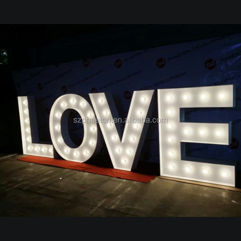 Wedding Stage Marquee Letter Decoration Wedding Hall Marquee Letters