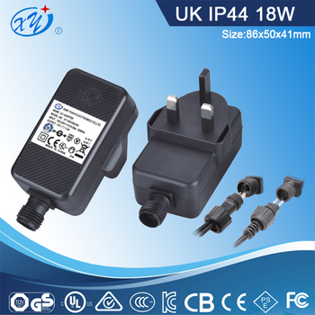 BS CE approval UK plug rainproof ip44 12v 1.5a christmas light adapter 18w - Bs Ce Approval Uk Plug Rainproof Ip44 12v 1.5a Christmas Light