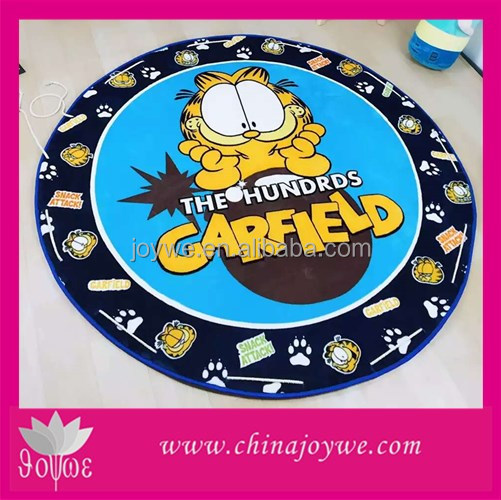 2016 most popular amazon hot sale baby play mat with side eva play floor mat with Garfield