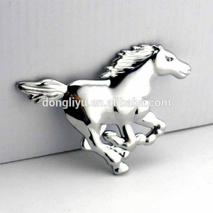 Custom 3d car horse logo badges auto emblems