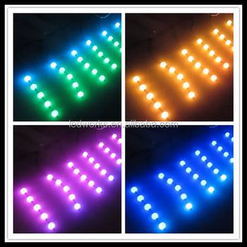 50mm Dmx 3d Pixel Ball Light,Dmx Rgb Led Ball String Nightclub ...