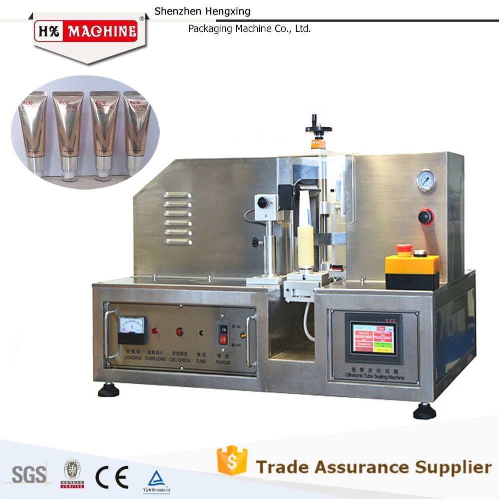 2016 Hot Sale, Ultrasonic Cream Tube Sealing Equipment with CE, China Leading Manufacturer