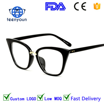 6761468a4b7 New 2017 fashion cat eye glasses frames optical brand design vintage cat  eye eyeglasses frame women