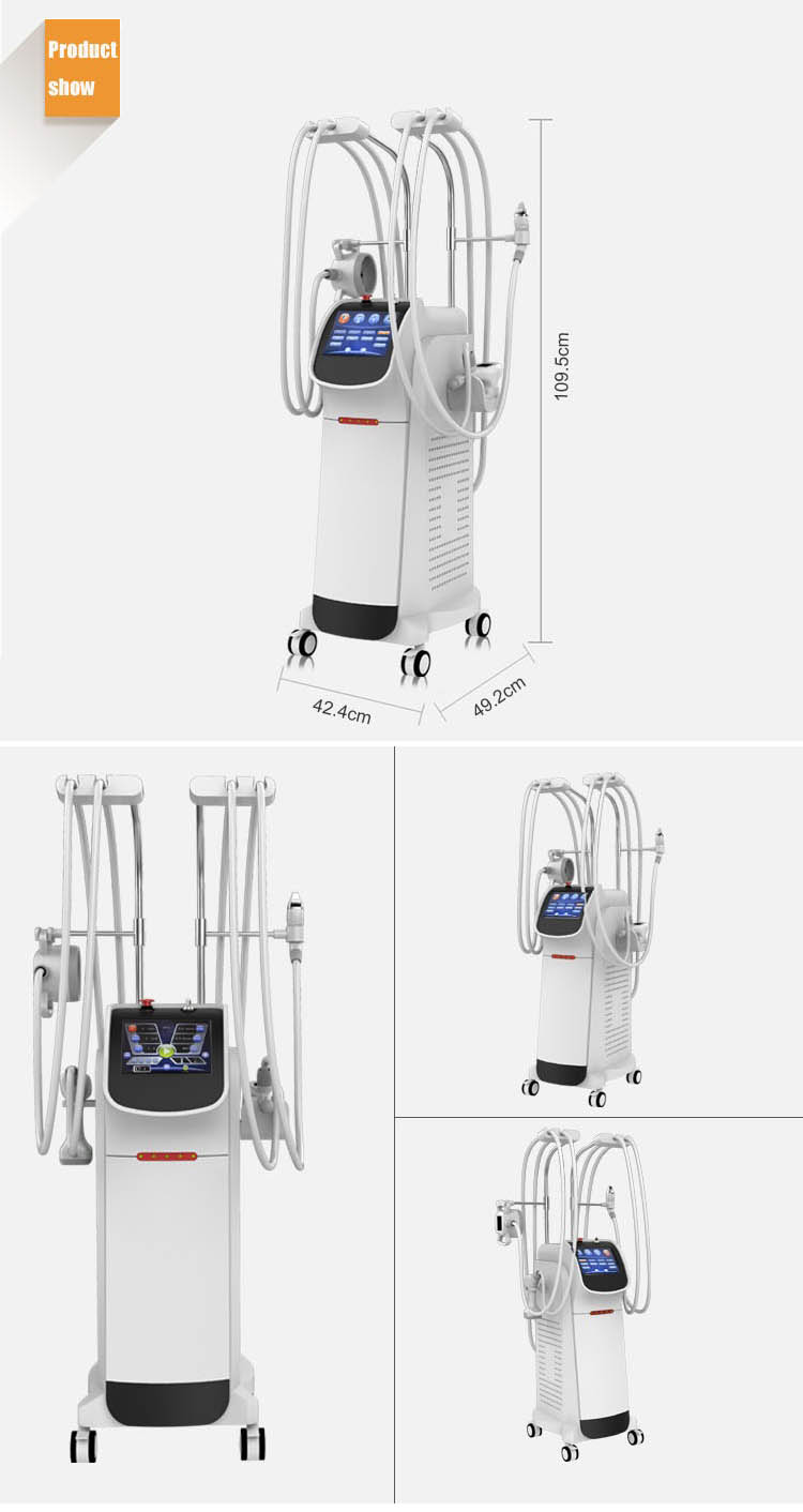All In One Cavitation Rf Vacuum Slimming Velashape With Good Price Body Contouring Machine For Sale