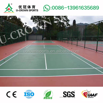 Tennis Court Paint Sports Flooring Sports Court Pu Flooring Buy