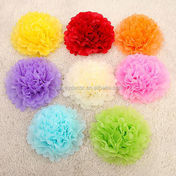 Decoration wedding hanging flower ball diy tissue paper poms tissue decoration wedding hanging flower ball diy tissue paper poms tissue paper pom poms mightylinksfo