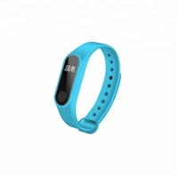 IP67 Grade Waterproof OLED Touch Screen BT 4.0 Heart Rate Sleep Monitor Pedometer Fitness Tracker M2 Sport Smart Bracelet Band