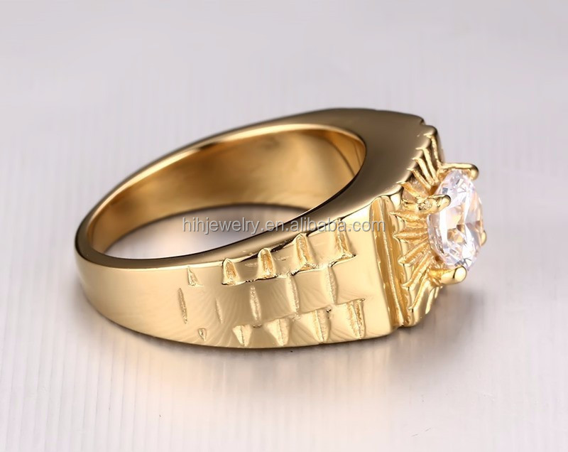 Stainless Steel Stone Ring Designs For Men Gold Ring Designs For ...