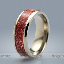 Wholesale Fashion New Products Titanium Ring For Indonesia Gemstone