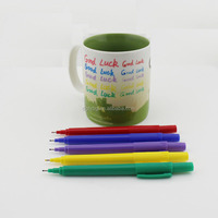 Paint Markers for Ceramic, Glass, Metal, Canvas, Wood. Ideal Product for Mug Customizing