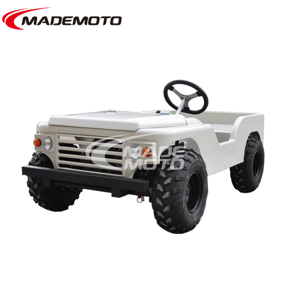 Electric with rack and radiator mini jeep rover willys with winch&trailer and winshield rc for sale