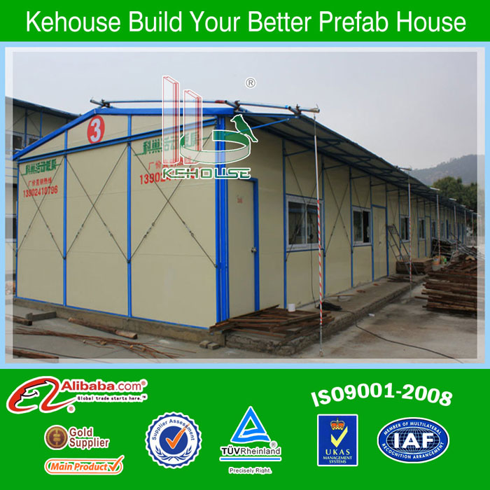 Foldable One Floor Steel Sheds Portable Homes For Site Temporery Toilets Used