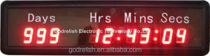 Brand new digital led countdown to christmas outdoor display with CE ROHS UL