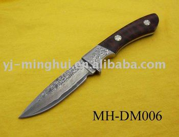 Hot selling damascus knife