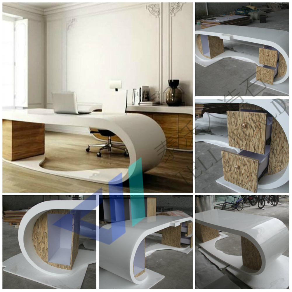 yellow office worktop marble office furniture corian. superior new arrived google desk executive office yellow semi circle worktop marble furniture corian t