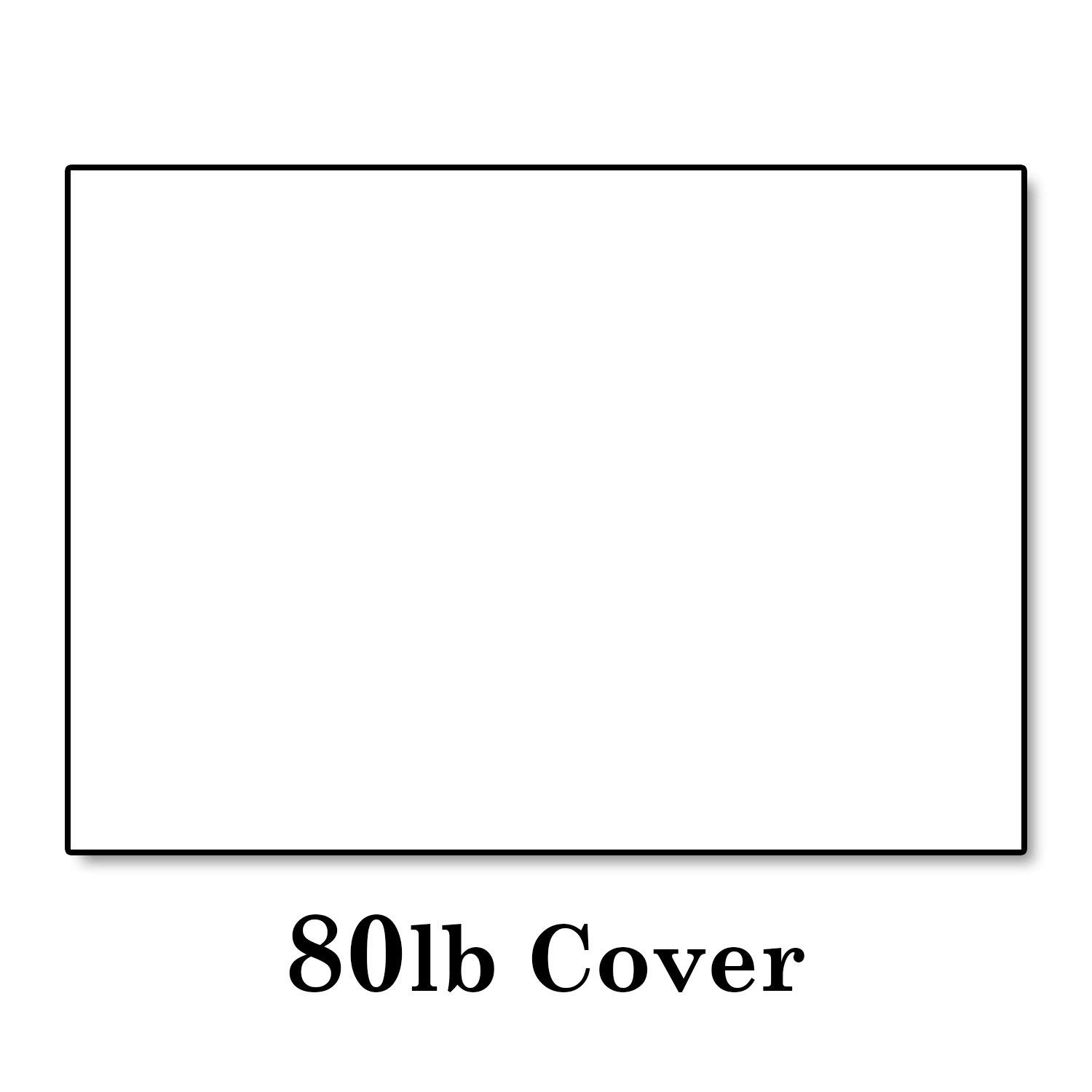"Hamilco White Cardstock Thick Paper - Blank Index Flash Note & Post Cards - Greeting Invitations Stationary 5 X 7"" Heavy Weight 80 lb Card Stock for Printer (100 Pack)"