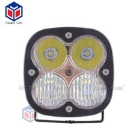 Factory direct sale For Forklift Auto Jeep 40w 4 inch Square Shape Mix Beam LED work light