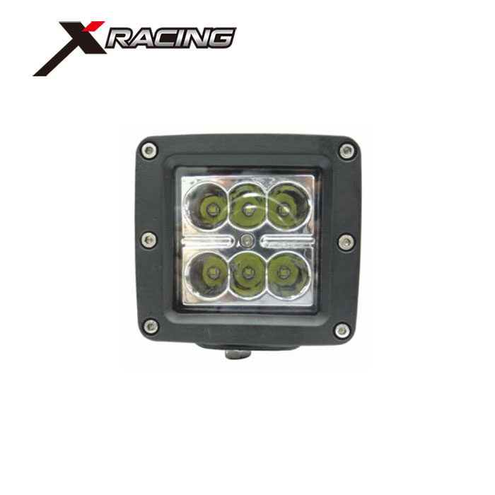 Xracing NM15-18W Car Work Light CE Rohs Certification and LED Lamp Type 18W LED Work Light For Offroad SUV