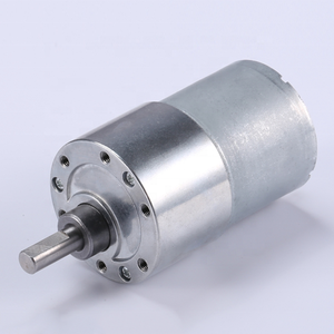 Waterproof driving electric motor with reduction gear