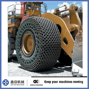factory made mining tyre protection chain