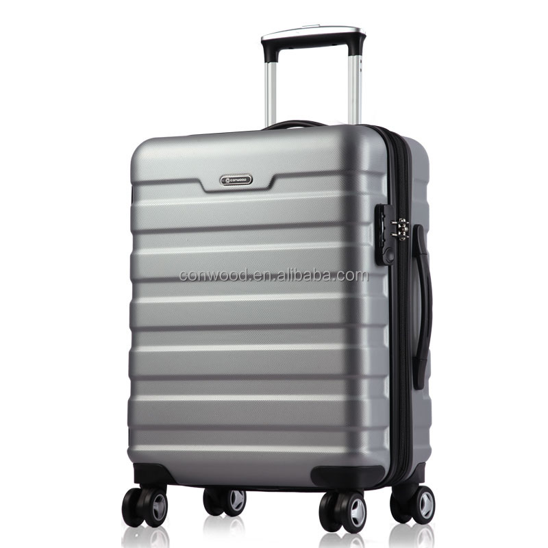 Quality and quantity assured Good travel trolley suitcase,hot sale abs luggage set