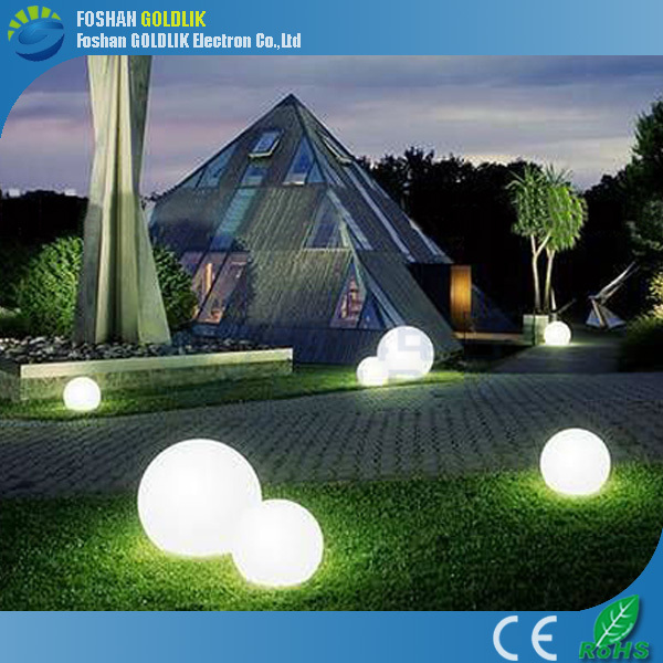 Large Outdoor Patio Lights: Outdoor Hanging Garden Light Ball Rechargeable Led Glow