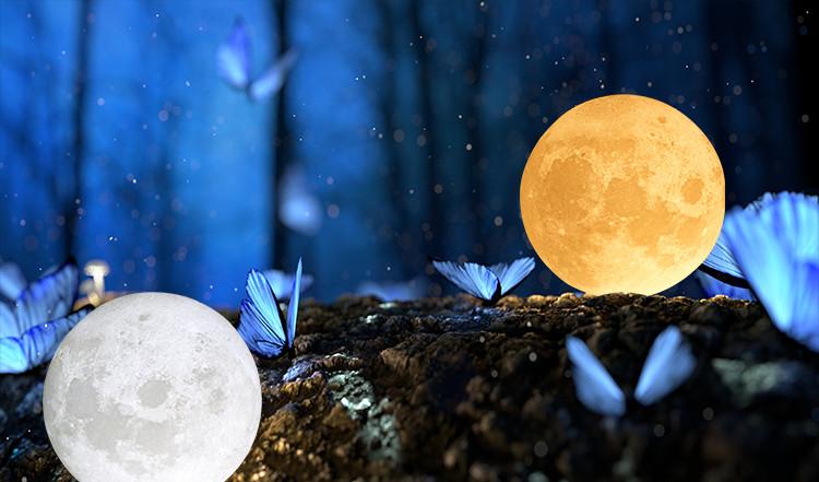 light moon lamp, light led base woods