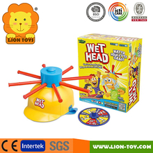 Hot Wet head Game Water roulette Game board game toy family game tricky toys washroom