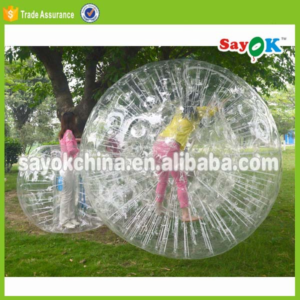 pvc inflatable soccer used mini baby land zorb ball