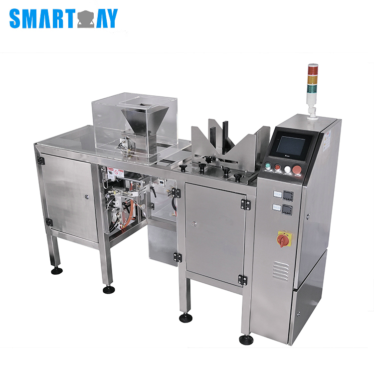 Smart Weigh pack doy semi automatic packing machine with cheap price for food weighing-16