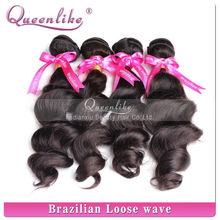 100% hot selling no tangle no shed natural color brailian hair