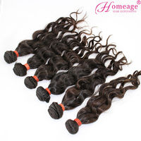 homeage top flip in extension unprocessed virgin brazilian wavy hair