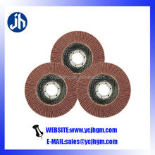 Nylon backing pad flap discs for smooth and finish polishing