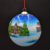 personalized inside painting glass bauble for Christmas tree as well as home decoration