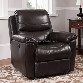 comfort lazy boy leather home theatre recliner rocking chair yrc1410 - Lazy Boy Leather Recliners